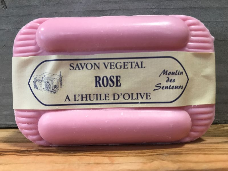 Savon naturel à la Rose 250g